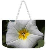 Morning Glory Named White Ensign Weekender Tote Bag
