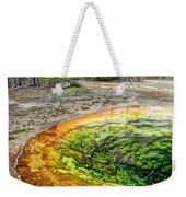 Morning Glory Pool - Yellowstone Weekender Tote Bag