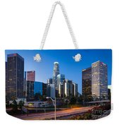 Morning In Los Angeles Weekender Tote Bag by Inge Johnsson
