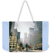 Morning In Manhattan Weekender Tote Bag