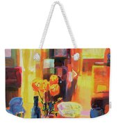 Morning In Paris Weekender Tote Bag by Martin Decent