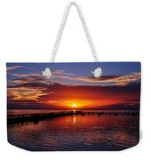 Morning In Red Weekender Tote Bag