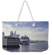 Morning In Seattle Weekender Tote Bag