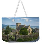 Morning In Snowshill Weekender Tote Bag