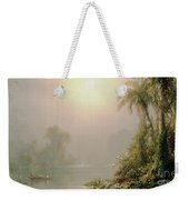 Morning In The Tropics Weekender Tote Bag by Frederic Edwin Church