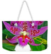 Morning Joy Orchid Weekender Tote Bag
