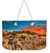 Morning Light At Garden Of The Gods Weekender Tote Bag