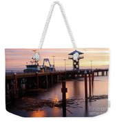 Morning Light At Port Angeles Weekender Tote Bag