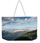 Morning Light On Lake Wakatipu And The Mountains Weekender Tote Bag