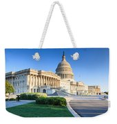 Powerful - Washington Dc Morning Light On Us Capitol Weekender Tote Bag