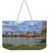 Morning Light Upon Downtown Little Rock - Arkansas - Skyline Weekender Tote Bag
