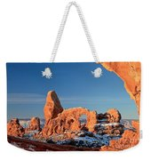 Morning Looking Out The Window Weekender Tote Bag