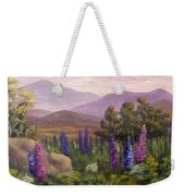 Morning Lupines Weekender Tote Bag