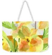 Morning Magnolias Weekender Tote Bag
