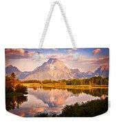 Morning Majesty Weekender Tote Bag