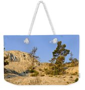 Morning Mammoth Moon Weekender Tote Bag