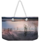Morning Nocturne. Ladoga Lake. Northern Russia  Weekender Tote Bag