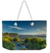 Morning On The Beach Weekender Tote Bag by Randy Hall