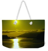 Morning On The Columbia River Weekender Tote Bag