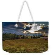 Morning On The Farm Three Weekender Tote Bag
