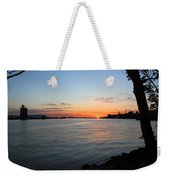 Morning On The Kill Van Kull Weekender Tote Bag