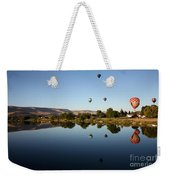 Morning On The Yakima River Weekender Tote Bag