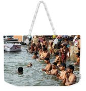 Morning Prayers And Ablutions Weekender Tote Bag