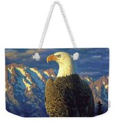 Morning Quest Weekender Tote Bag by Crista Forest