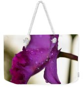 Morning Rain - Orchid Photography By Sharon Cummings Weekender Tote Bag