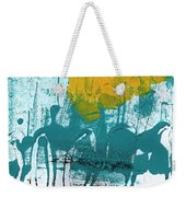 Morning Ride Weekender Tote Bag