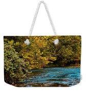 Morning River Weekender Tote Bag