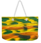 Morning Shadows On The Palouse Weekender Tote Bag