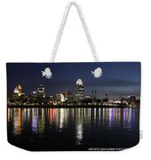 Morning Skyline Wo Bridge I Weekender Tote Bag