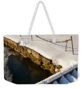 Morning Snow Weekender Tote Bag
