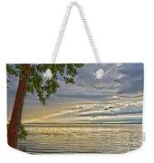 Morning Storm Weekender Tote Bag