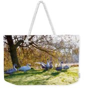 Morning Stretch - Impressions Weekender Tote Bag