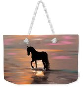 Morning Stroll On The Beach Weekender Tote Bag