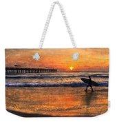 Morning Surf Weekender Tote Bag