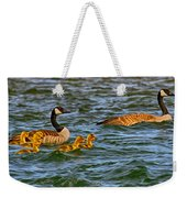 Morning Swim Weekender Tote Bag by Omaste Witkowski
