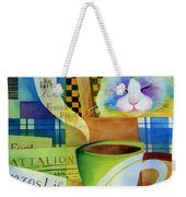 Morning Table Weekender Tote Bag