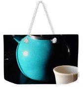 Morning Tea Two Weekender Tote Bag