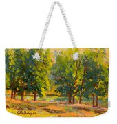 Morning Through The Trees Weekender Tote Bag