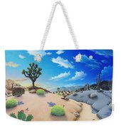 Joshua Tree Morning To Night Weekender Tote Bag