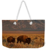 Morning Travels In Grand Teton Weekender Tote Bag