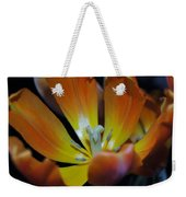Morning Tulip Weekender Tote Bag