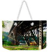 Morning Under The Bridge Weekender Tote Bag