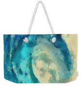 Morning Wave Weekender Tote Bag