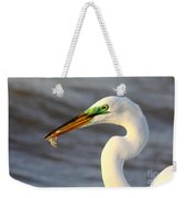 Morning's Catch Weekender Tote Bag