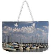 Morningstar Marina Boat Harbor Georgia Weekender Tote Bag