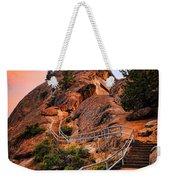 Moro Rock Path Weekender Tote Bag by Inge Johnsson